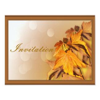 "Thanksgiving Day Invitation 4.25"" X 5.5"" Invitation Card"