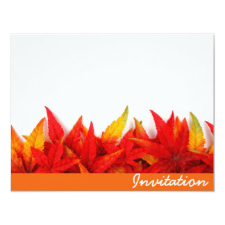 Thanksgiving Day Invitation Card