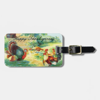 Thanksgiving Day Luggage Tag