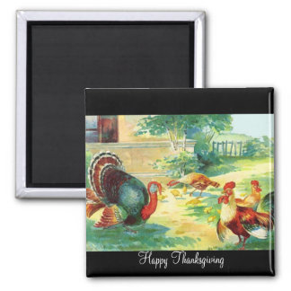 Thanksgiving Day Magnet