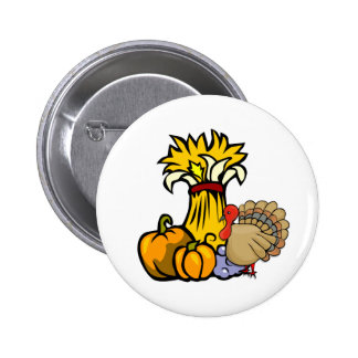 Thanksgiving Day Pinback Buttons