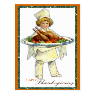 Thanksgiving Day Postcard