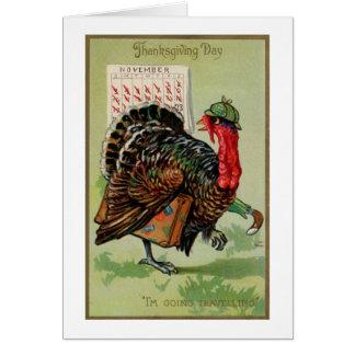 Thanksgiving Day Turkey, Card