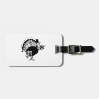 Thanksgiving Day Turkey Tag For Bags
