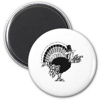 Thanksgiving Day Turkey Magnet