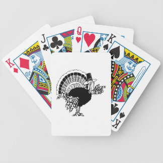 Thanksgiving Day Turkey Bicycle Playing Cards