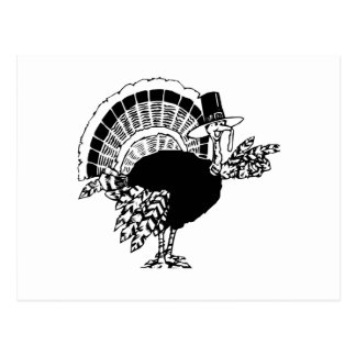 Thanksgiving Day Turkey Postcard