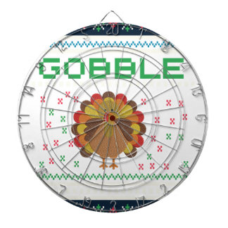 Thanksgiving design dartboard
