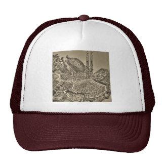 thanksgiving dinner in sepia hats