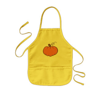Thanksgiving Dinner Kids Apron