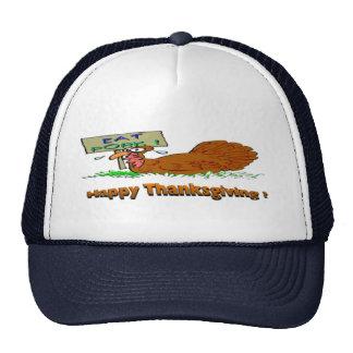 Thanksgiving Eat Pork Cap