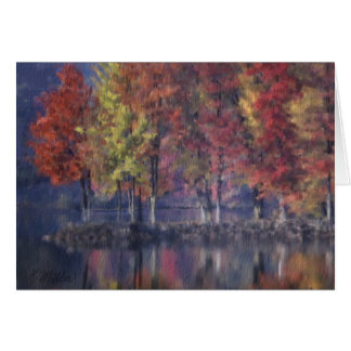 Thanksgiving - Fall Colors Cards