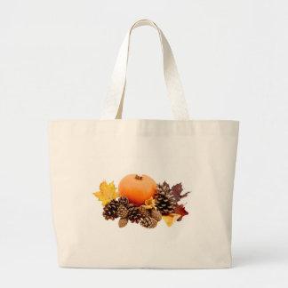 Thanksgiving / fall still life canvas bag