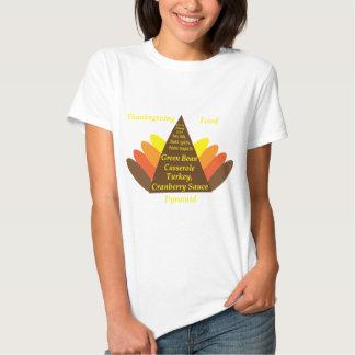 Thanksgiving Food Pyramid Dark copy.png Shirt