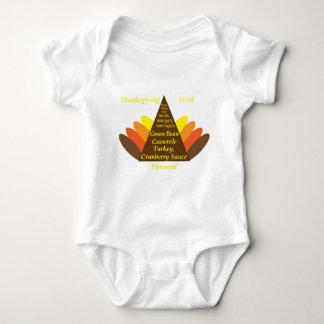 Thanksgiving Food Pyramid Dark copy.png T-shirts