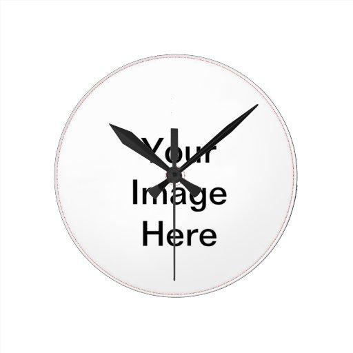 Thanksgiving Gift Template Round Clocks