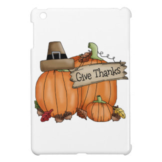 Thanksgiving Give Thanks Cover For The iPad Mini
