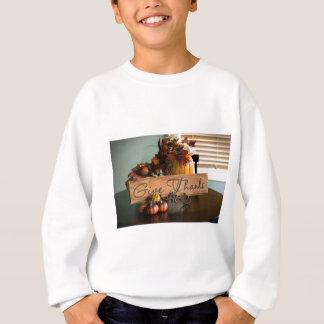 Thanksgiving Give Thanks Sweatshirt