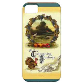 Thanksgiving greetings Out in the fields iPhone 5 Cover