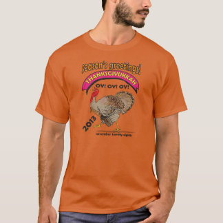 Thanksgiving, Hanukkah, Thanksgivukkah Holiday T-Shirt
