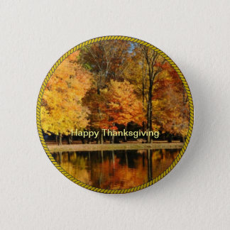 THANKSGIVING: Happy Thanksgiving Button/Lapel Pin