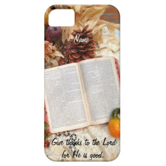 Thanksgiving Harvest and Bible Case For The iPhone 5
