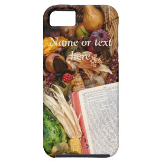 Thanksgiving Harvest and Bible iPhone 5 Covers