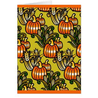 Thanksgiving Harvest Card