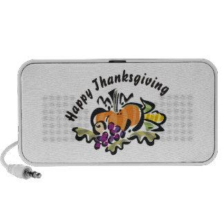 Thanksgiving Harvest Notebook Speaker