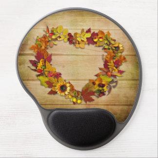 Thanksgiving Heart Gel Mousepad