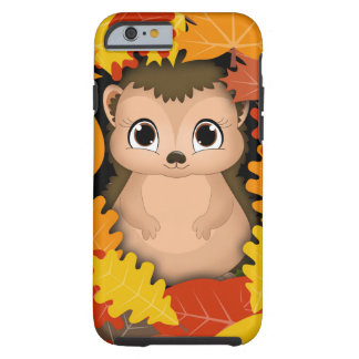 Thanksgiving Hedgehog iPhone 6/6s, Tough Tough iPhone 6 Case