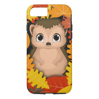Thanksgiving Hedgehog iPhone 7, Tough iPhone 7 Case