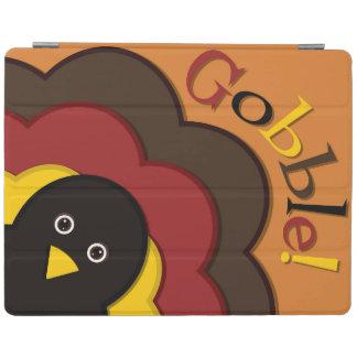 Thanksgiving hiding turkey iPad cover