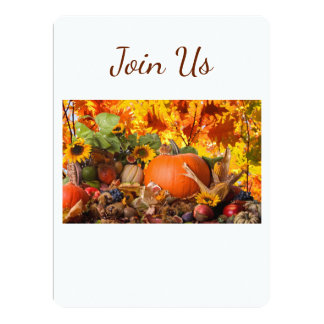**THANKSGIVING HOLIDAY** EVENT INVITATION