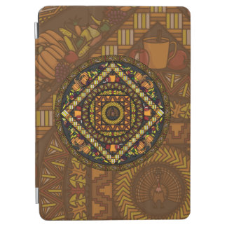 Thanksgiving Icons iPad Cover