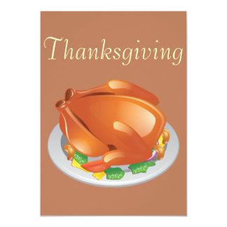 "Thanksgiving 5"" X 7"" Invitation Card"
