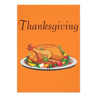 Thanksgiving Custom Announcements