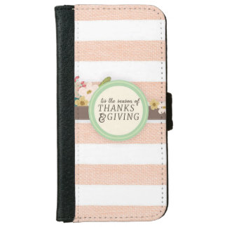 thanksgiving iPhone 6 wallet case