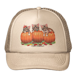 Thanksgiving is the Cat's Meow Cap