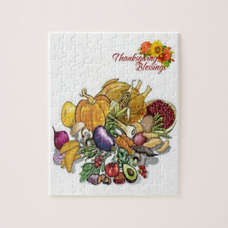 Thanksgiving Jigsaw Puzzle