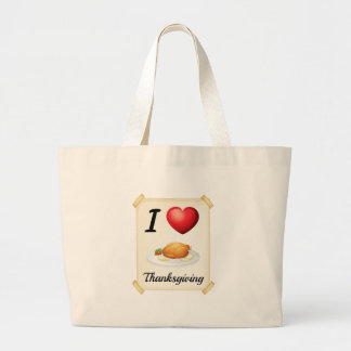 thanksgiving jumbo tote bag