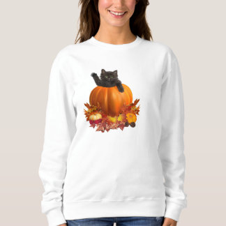 Thanksgiving Kitty Sweatshirt