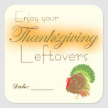 Thanksgiving Leftover Stickers