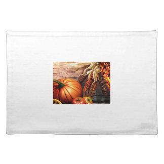 Thanksgiving Maize Corn Pumpkin Placemat