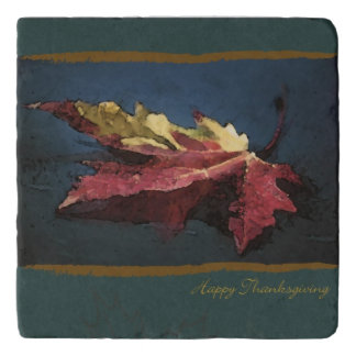 Thanksgiving Marble Trivet