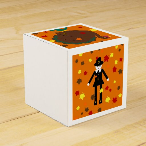 Thanksgiving Martzkin Treat Boxes Party Favor Boxes