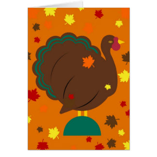 Thanksgiving Martzkin Turkey Card © 2012 M. Mart