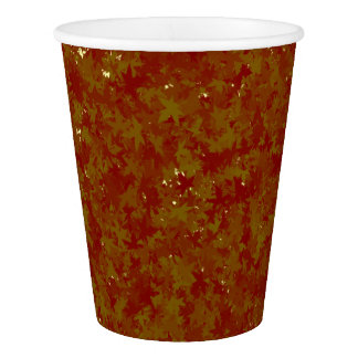 Thanksgiving paper cup