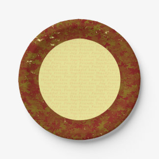 Thanksgiving paper plates