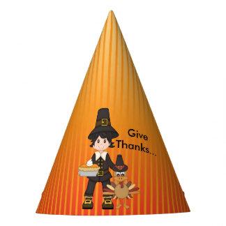 Thanksgiving Party Hat/Pilgrim Party Hat